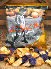 Larssons potatischips[Foto Larsviken]