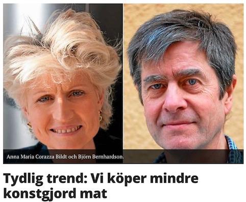 2016-01-08 Göteborgsposten, Vi_köper_mindre_konstgjord_mat