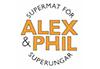 Alex&Phil logga 100