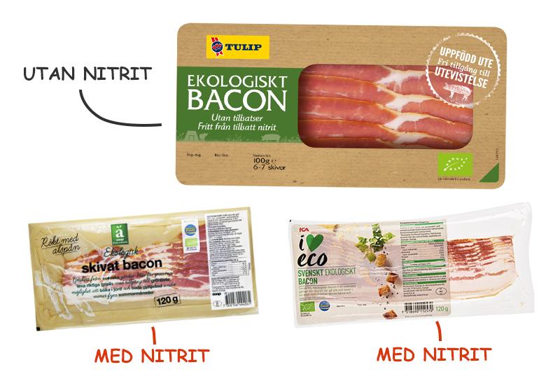 Nitritfri bacon montage Tulip Coop Ica