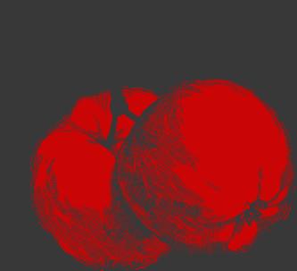 Äpplen frilagda m färg 2