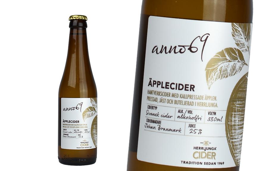 Herrljunga cider anno69